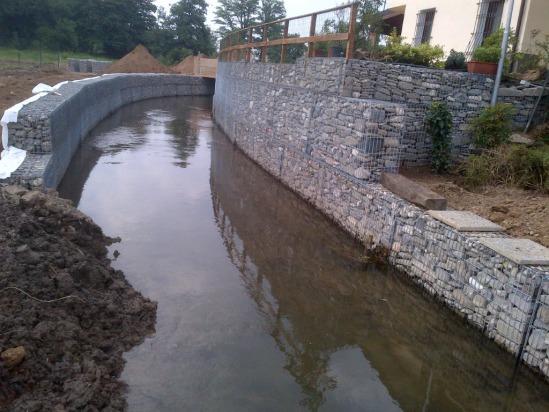gabbioni contenimento drenaggio